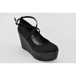 Women's suede wedges Veneti 21