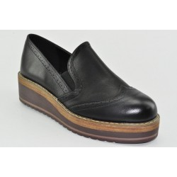 Women's oxford low wedges Veneti RT601