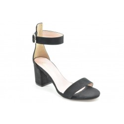 Women's suede ankle strap sandals by Veneti 82369