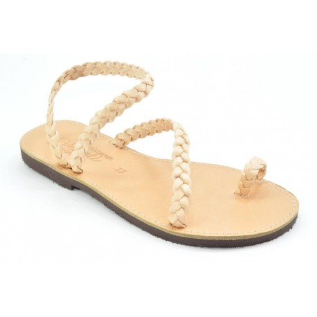 Women's leather sandals by Veneti 017 TRESS