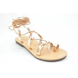 Women's leather sandals by Veneti 052