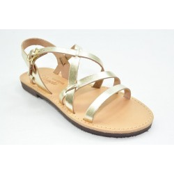 Women's leather sandals by Veneti 168