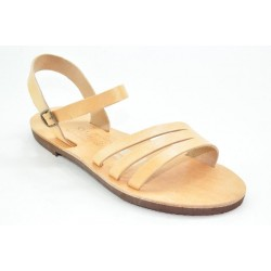Women's leather sandals by Veneti 411