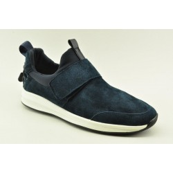 Men leather sneakers Alfio Rado 9287-2 NAVY