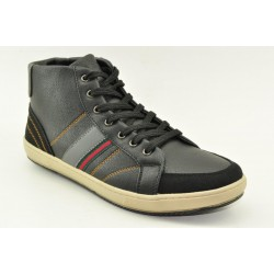MEN BOOTIES SNEAKERS ALFIO RADO W038L BLACK
