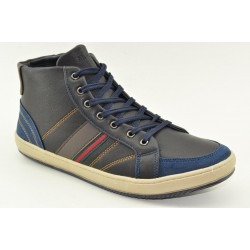 MEN BOOTIES SNEAKERS ALFIO RADO W038L NAVY