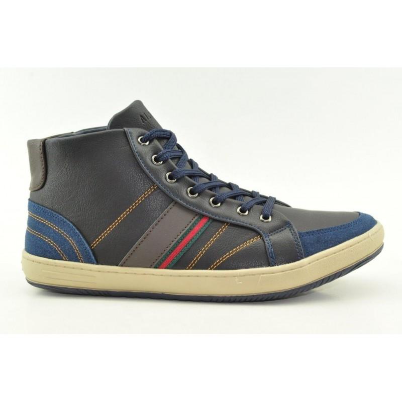 fb978a2ca79 Ανδρικά μποτάκια sneakers Alfio Rado W038L NAVY| VENETISHOES