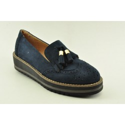 WOMEN OXFORDS VENETI Y23 NAVY