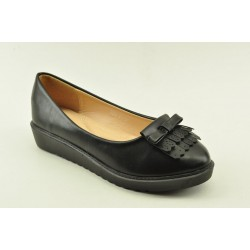 WOMEN'S BALLERINAS VENETI 6825-33 BLACK