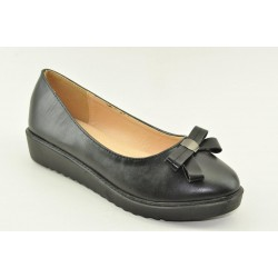 WOMEN'S BALLERINAS VENETI 6825-36 BLACK