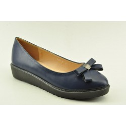 WOMEN'S BALLERINAS VENETI 6825-36 NAVY