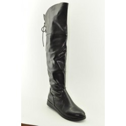 BOOTS OVER THE KNEE VENETI 838-51 BLACK