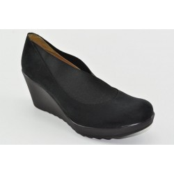 Women's suede wedges Veneti 060