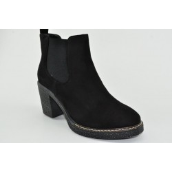 Women's suede booties Veneti 5406