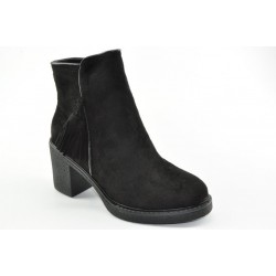 Women's suede booties Veneti K638
