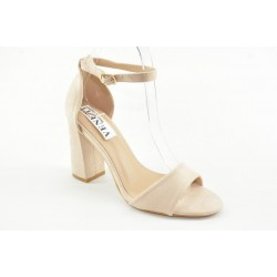 Ankle strap suede sandals JM818
