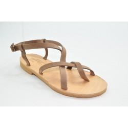 Women's leather sandals by Veneti 11/11