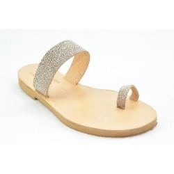 Women's leather sandals by Veneti 14