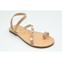 Women's leather sandals by Veneti 016