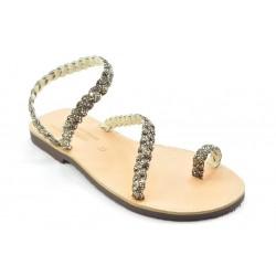 Women's leather sandals by Veneti 017 TRESS