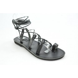 Women's leather sandals by Veneti 052