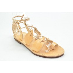 Women's leather sandals by Veneti 053F
