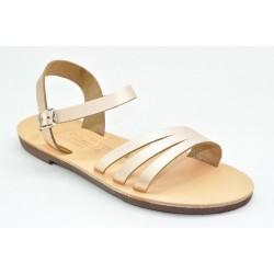 Women's leather sandals by Veneti 411