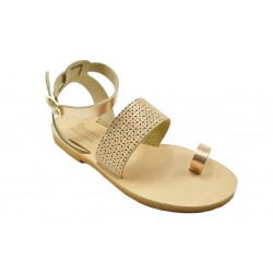 Women's leather sandals by Romance 8-6