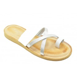 Women's leather sandals by Romance 1404