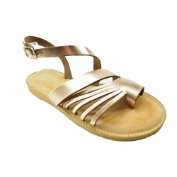 Women's leather sandals by Romance 1704