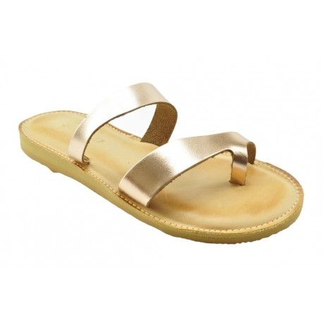 Women's leather sandals by Romance 1403