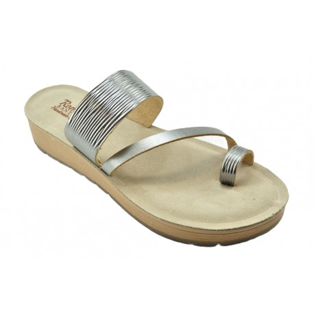 Women's leather sandals by Romance T70