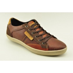 MEN SNEAKERS ALFIO RADO J0510 COFFEE
