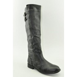 BOOTS WITH FLAT HEEL VENETI C96-9 BLACK