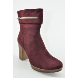 Women's suede booties Veneti 90